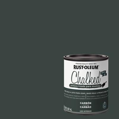 Chalked pintura tizada Carbón 0,887L