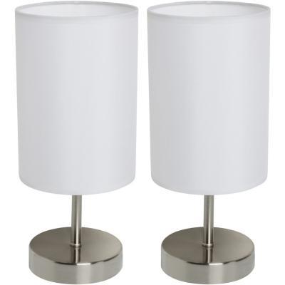 Pack 2 lámparas de mesa Praga 40W E27