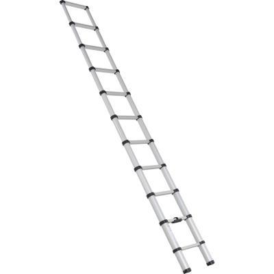 Escala telescópica aluminio 11 peldaños 3,2 m aluminio