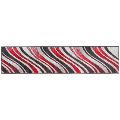 Alfombra pasillo lotto ondas 50x220 cm multicolor