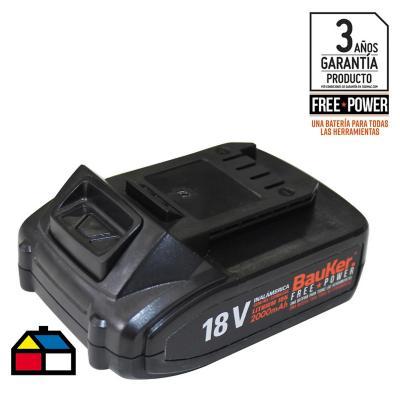 Batería recargable 18V 2,0 Ah