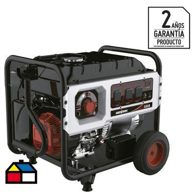 Generador eléctrico a gasolina 6000W