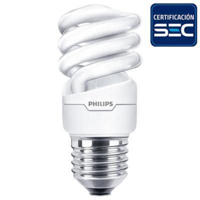 Ampolleta espiral E27 50W luz cálida