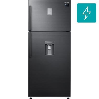 Refrigerador no frost top mount freezer 526 litros gris