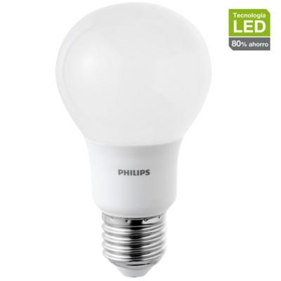 Ampolleta LED bulbo 9W-70W Switch dimmer luz cálida E27
