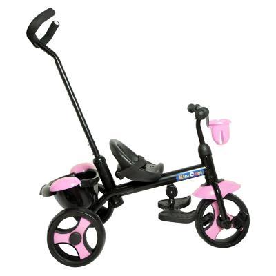 Triciclo con manilla 80x52x95 cm rosado