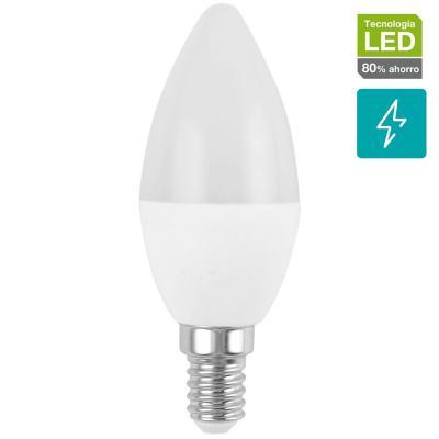 Ampolleta LED vela E14 27W luz cálida
