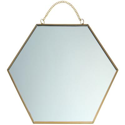 Espejo Panal 25x25 cm con cadena
