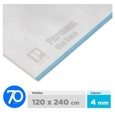 4 mm 120 x240 cm Planchas permanit superboard