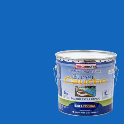 Supercaucho azul tahiti 4 gl
