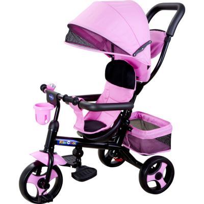Triciclo 4 funciones rosado