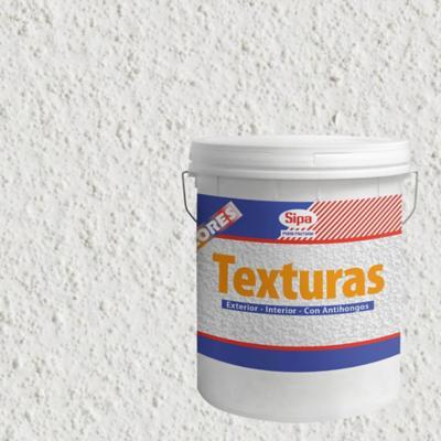 Revestimiento texturado fino 24 kg blanco