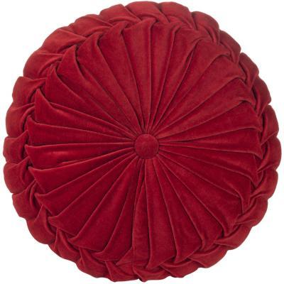 Cojín Velvet rojo 40x10 cm
