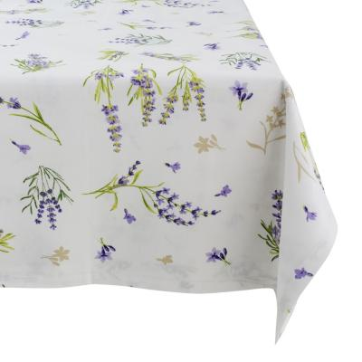 Mantel rectangular 160x230 cm lavanda