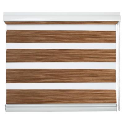 Cortina enrollable duo 135x240 cm madera