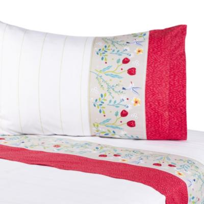 Juego de sábanas Benoi 144 hilos multicolor 1,5 plazas