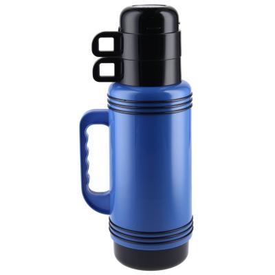 Termo líquido 0,95 litros azul/negro