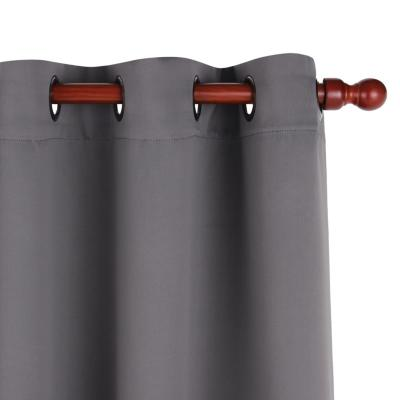 Cortina tela 135x220cm Classic gris
