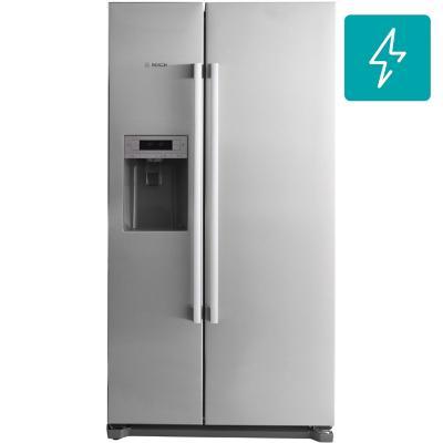 Refrigerador side by side 608 litros gris