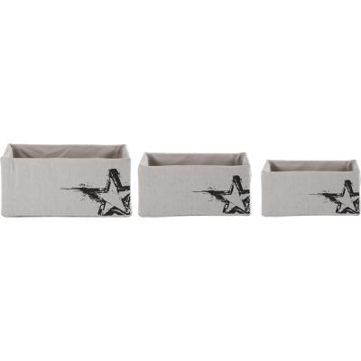 Set cajas 16x25x35 cm 3 unidades café