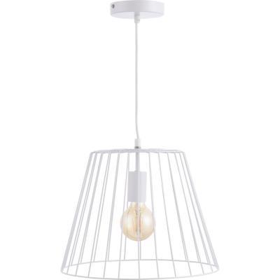 Lámpara de colgar Metal Hang Blanca