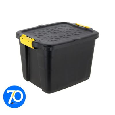 Caja con asa 42 litros negro