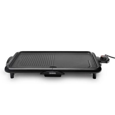 Parrilla eléctrica 2000 W negro
