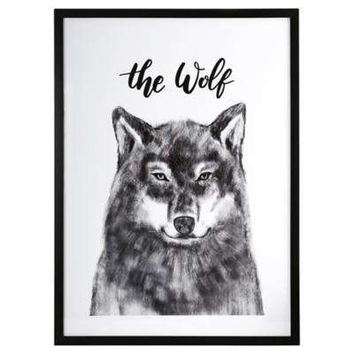 Cuadro The Wolf 70x50 cm