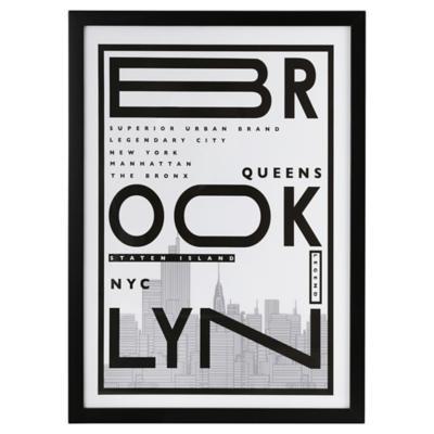 Cuadro Brooklyn 50X35 cm
