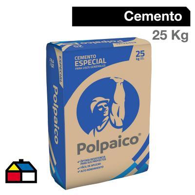 Cemento Polpaico 25 kilos