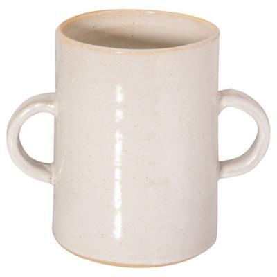 Vasija para cocina cerámica blanco