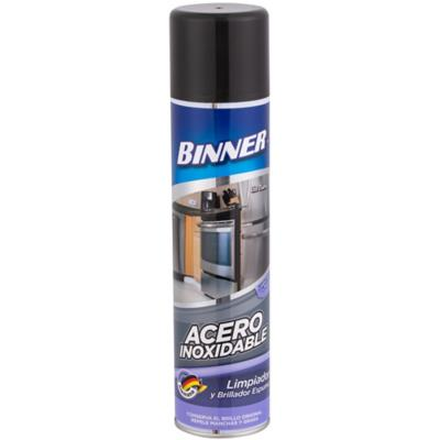 Limpiador en spray para acero inoxidable 400 ml