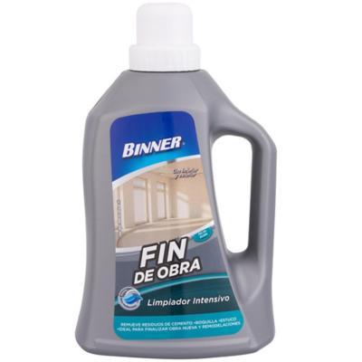 Limpiador fin de obras 1 lt