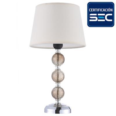 Lámpara de mesa Ankara 1 luz humo