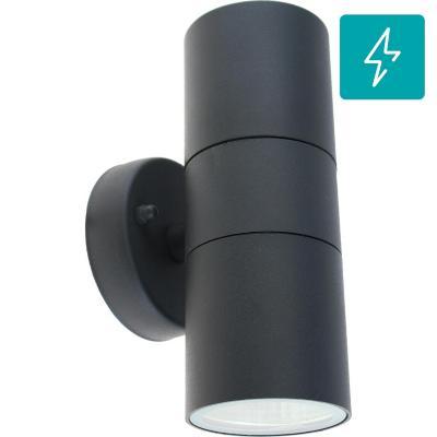 Apliqué de muro LED 4 W Negro