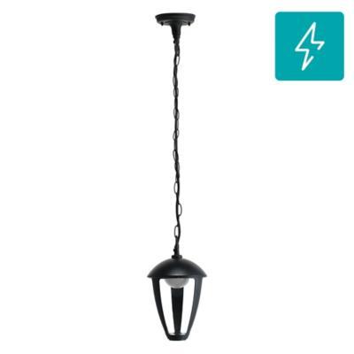 Farol colgante LED 8 W Negro