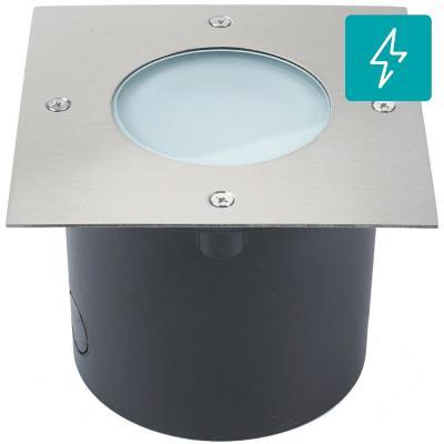 Panel cuadrado LED 7 W gris