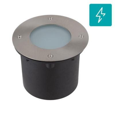 Panel circular LED 7 W gris