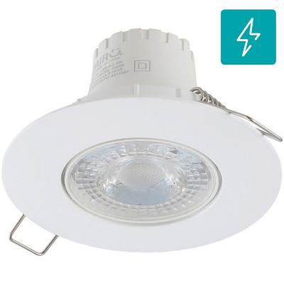 Spot LED empotrado 5,5 W luz cálida Blanco