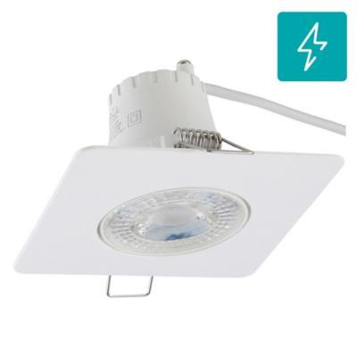 Spot LED empotrado 5,5 W luz fría Blanco