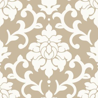 Rollos autoadhesivos Reutilizables diseño flor 52x503 cm