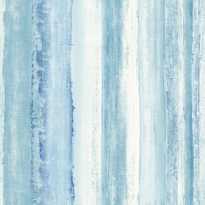 Rollos autoadhesivos Reutilizables acuarela azul 52x503 cm