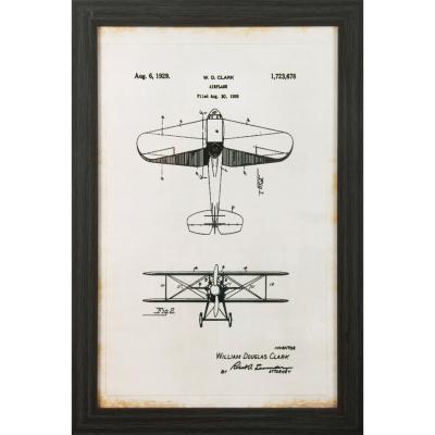 Cuadro Avión 60x40 cm