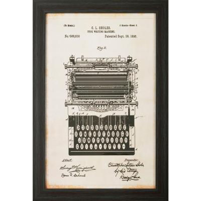 Cuadro Maquina de Escribir 60x40 cm
