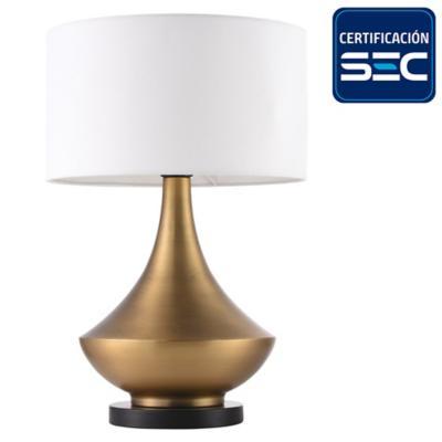 Lámpara de mesa Toledo blanco