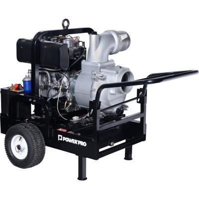 Motobomba Diesel 17 HP 2166 l/min