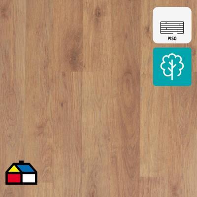 Piso flotante 8 mm oak 128,5x19,2 cm 2,22 m2