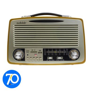 Radio Bluetooth Retro Fm/Am Usb