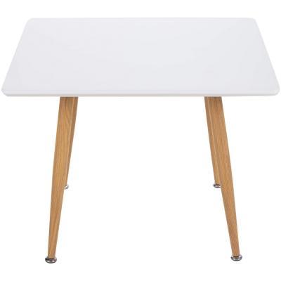 Mesa lateral 45x60x60 cm blanco