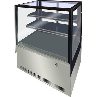 Vitrina refrigerada 375 litros pastelera gris